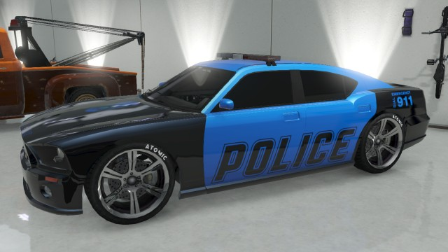 gta 5 online how to get police car in garage